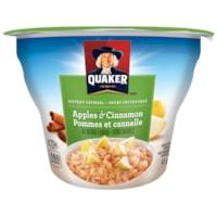 Quaker Instant Oatmeal, Apples & Cinnamon, 43 g, 12/CT