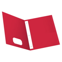 Oxford Twin-Pocket Portfolio, Red, Letter Size