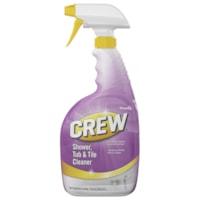 Nettoyant pour douches, baignoires et carreaux Crew Diversey, bouteille à vaporisateur prête à l'emploi de 946 ml