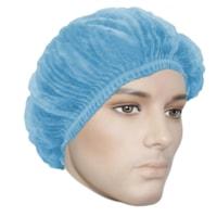 Charlottes plissées Ronco Care, bleu, 21 po, caisse de 1 000