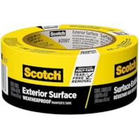 Ruban adhésif pour peintre pour surfaces extérieures 2097 Scotch, résistant aux intempéries, jaune, 48 mm x 41,1 m