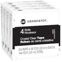 Recharge de ruban clair cristal Grand & Toy