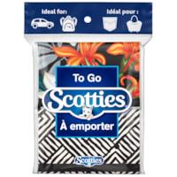 Scotties to Go 3-Ply Facial Tissue Pocket Packs, 8/PK