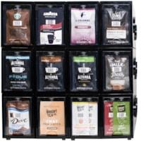 Présentoir de sachets portions individuelles Freshpack Flavia, 12 tiroirs