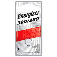 Energizer 390/389 Silver Oxide Button Cell Battery, 1/PK 1 / PACK CUST SPECIFIC