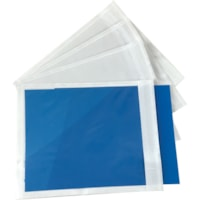 Edge Packing List Envelopes, Clear, 4 1/2