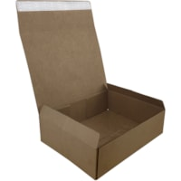ReadyPack Self-Seal Small Packing Boxes, Brown Kraft, 12