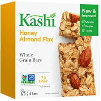 Kashi Whole Grain Bars, Honey Almond Flax, 35g, 5/BX