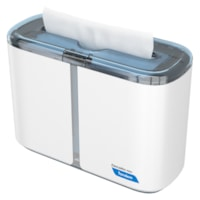 Cascades PRO Tandem Multifold Hand Towel Countertop Dispenser, White