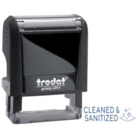Trodat 4911 Covid-19 English Message Stamp, Cleaned & Sanitized