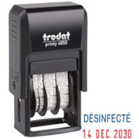 Trodat 4850 Covid-19 French Date Stamp, Désinfecté