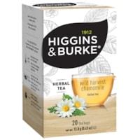 Higgins & Burke Naturals Herbal Tea, Wild Harvest Chamomile, 20/BX