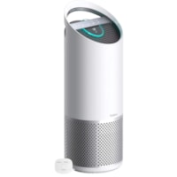 TruSens Air Purifier with 360-Degree Dupont TRUE HEPA Filter and SensorPod Air Quality Monitor, Large Room, White