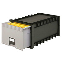 Storex Stackable Filing Drawer