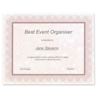 First Base Regent Certificate
