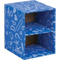 CUBE EMPILABLE CLASS,2TABLETTE