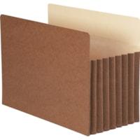 Smead TUFF Straight Tab Cut Legal Recycled File Pocket
