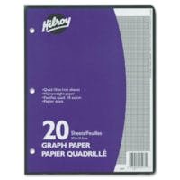 Hilroy One-Sided Metric Quad Ruled Filler Paper