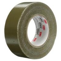 3M 3900 Multi-Purpose Duct Tape, Olive, 7.6 mil, 48 mm x 55 m, 24/CT
