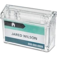 Deflecto Outdoor Business Card Holder