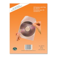 Greenside Self-Adhesive CD Pocket with Flap