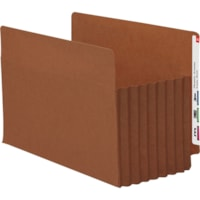 Smead TUFF Straight Tab Cut Legal Recycled File Pocket