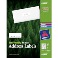 Avery® EcoFriendly Address Labels 48860, 1