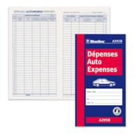 CARNET DEPENSES AUTO 6.4x3.5