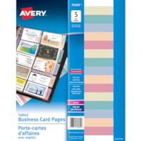 Avery® Business Card Holder Page