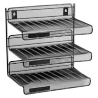Rolodex Expressions Mesh 3 Tier Desk Shelf