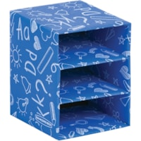 CUBE EMPILABLE CLASS,3TABLETTE
