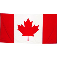 Nylite Nylon Canadian Flag