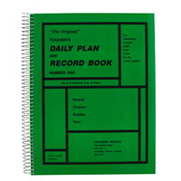 The Original Teacher Daily Plan Book