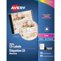 Avery® Laser/InkJet CD Labels