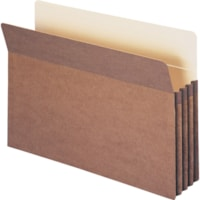 Smead Straight Tab Cut Legal Recycled File Pocket