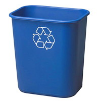 Rubbermaid Recycle Wastebasket