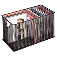 Fellowes Wire Mesh CD/DVD Storage Box