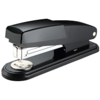 Grand & Toy Compact Stapler, Half-Strip, Black