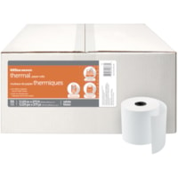 Office Depot® Thermal Paper Rolls, 3 1/8