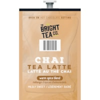 The Bright Tea Co. Single-Serve Freshpacks, Chai Tea Latte, 72/CT