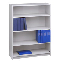 Global Genoa Series 4-Shelf Bookcase