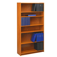 Global Genoa 6-Shelf Bookcase, Avant Honey