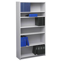 Global Genoa 6-Shelf Bookcase