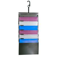 Pendaflex Letter/Legal-Size Desk-Free Hanging Organizer with Built-In Case