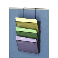 Fellowes Partition Additions Mesh Triple-File Pocket