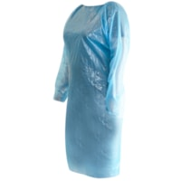 Winnable Disposable Isolation Aprons, Blue