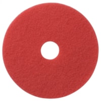 Americo Floor Buffing Pads, Red, 12