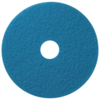 Americo Floor Cleaning Pads, Blue, 18