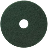 Americo Floor Scrubbing Pads, Green, 16