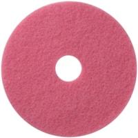 Americo Flamingo Auto Scrub Floor Pads, Pink, 20